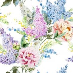 Servett blommor