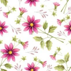 Servett blomma